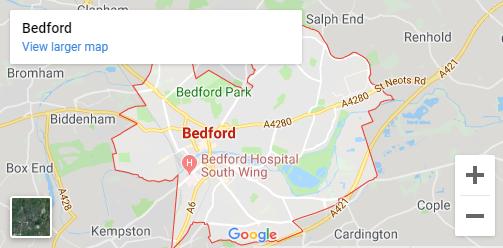 map bedfprd